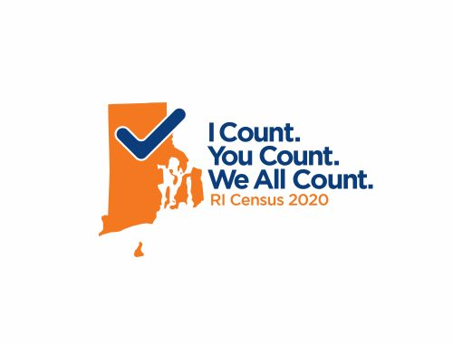 RI Census 2020 Logo