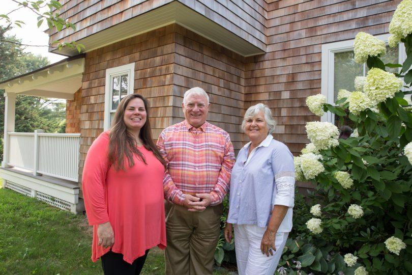 Foundation donor advisors Fran Gammell-Roach, Nick Roach, Liza Roach