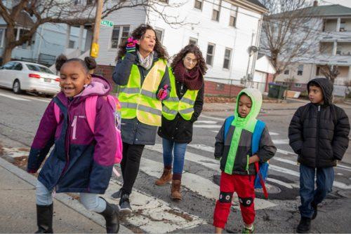 """Family Service of Rhode Island """"Walking School Bus"""""""